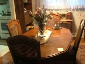 Dining Room Set - Solid Oak - Sklar-Peppler