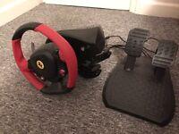 Xbox one thrustmaster Ferrari steering wheel