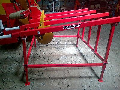 New Rabaud Log Table For Firewood Processor