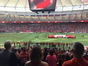 BC Lions Premium Club Seats for sale for Various Games