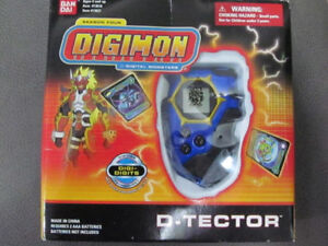 Selling Sealed Digimon Digivice Blue D-Techor