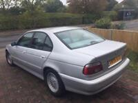 2001 BMW 520i AUTO GOOD CLEAN AND PRESENTABLE CON THROUGHOUT 118K MOT 4/18 PX