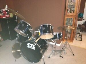CB 5pc drum kit.  $200
