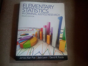 Elementary Statistics in Criminal Justice Research 4th Edition