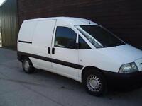 56 REG PEUGEOT EXPERT VAN 2.0HDi 110BHP 3 SEATER CAB TWIN SIDE DOORS NO VAT