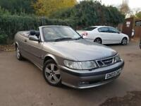 Saab 9-3 2.0t 2002MY SE NEW MOT + BARGAIN CAB