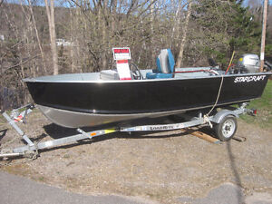 2013 14' Star Craft Boat – Voyager High Rise and Trailer