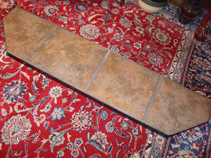 Hearth Extension and Fireplace Floor Protector