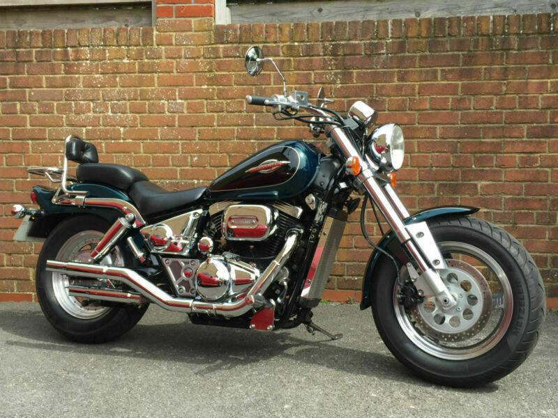 1997 Suzuki VZ 800 Marauder | Motorcycle, Suzuki, Moped