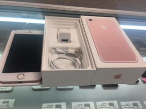 iPHONE 7 128GB UNLOCKED IN BRAND NEW MINT CONDITION