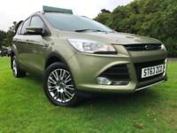 *6 MTHS WARRANTY 2014(63)FORD KUGA 2.0 TDCI TITANIUM 4X4...1 OWNER FROM NEW*