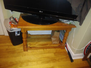 1 end table and small coffee table