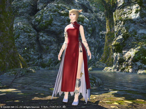 FINAL FANTASY XIV Far Eastern Garb for Women