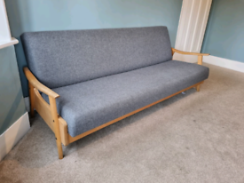 Vintage Greaves and Thomas Sofabed - Recently Reupholstered - Mid Cent