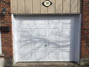 Timely & affordable service for your garage door or opener *