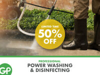 Professional Power Washing & Disinfecting Services