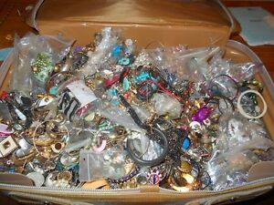 all kind of jewelries and pieces, good for crafts