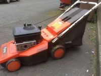 Flymo chevron push petrol lawn mower