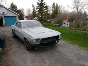 1967 mustang on rx8 chassis and drivetrain