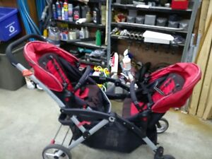 Double Stroller- Contours Options Tandem Stroller
