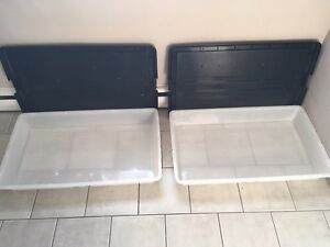 Two matching under bed bins London Ontario image 1