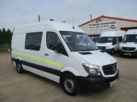 14 reg MERCEDES BENZ SPRINTER MWB, CREW, MESS UNIT, MESSING, WELFARE TOILET VAN