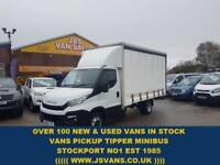 2016 16 IVECO-FORD DAILY 35C130 EXTRA LONG WHEEL BASE CURTAINSIDE 2016/16 RE