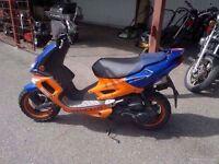 Peugeot speed flight 100cc cheap moped