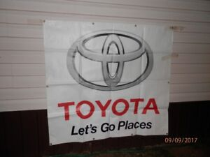 "Toyota ""Let's Go Places"" banner"