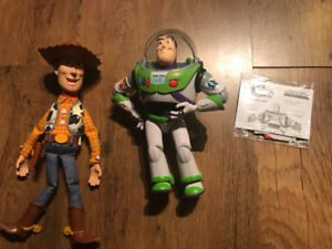 Toy Collection Buzz Lightyear & Talking Woody