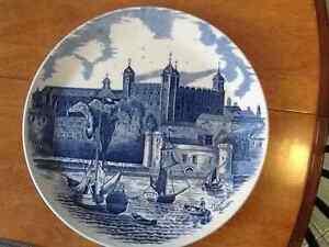 Johnson bros. Tower of London 900th anniversary plate. London Ontario image 1