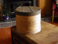 Antique Wooden Shipping Box