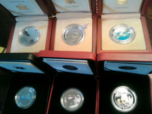2003-2005 Natural Wonders Series Complete coin set