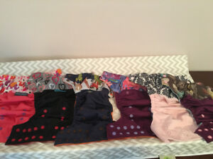 17 cloth diapers and inserts