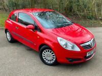 Vauxhall Corsa 1.2i 16V Life Petrol Manual 3 Door Red 2007