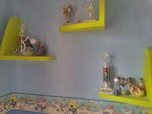 Ikea Children's Wall Mounted Shelves