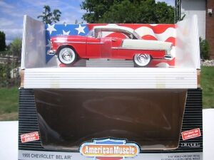 3  CHEVY 1/18 SCALE DIECAST CARS
