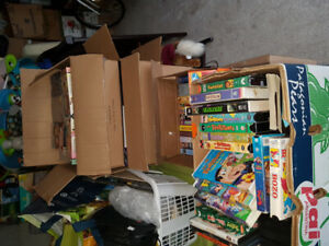 hundreds of vhs for sale/trade