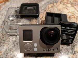 GoPro Hero 3+ Silver avec 2 batteries et chargeur
