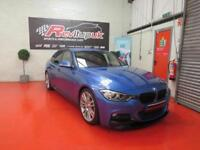 2014/64 BMW 330D M SPORT SALOON - RED - M PERFORMANCE PK - RED LEATHER
