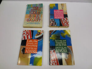 Hitchiker's Guide to the Galaxy - paperback set of 4 books