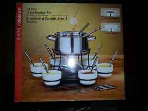 Fondue set made by Trudeau