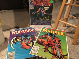 Giant Wolverine Comic Book Collection 150 plus issues