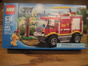 LEGO City 4X4 Fire Truck (#4208)  BRAND NEW!  Collectible