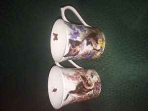 Regal Heritage Kittens by Queen's, set of two mugs