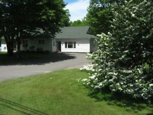 ONE LEVEL LIVING, ROTHESAY, NB (Zoned For In-Home Business)