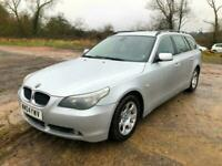 BMW 530 TD SE TOURING AUTO * DIESEL *F.S.H *ALLOYS* LEATHER*A/C*