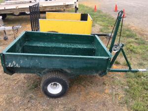 2000 lb Tilt ATV trailer