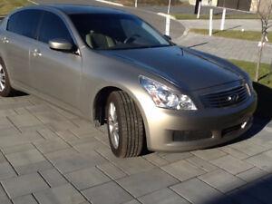Infiniti G37  - 2009 -Sedan  AWD, CUIR, TOIT, A/C, CRUISE, BEiGE