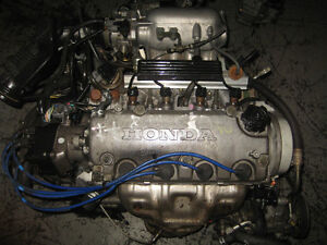 96 00 HONDA CIVIC SOHC DUAL VTEC D15B ENGINE 5SPEED TRANS JDM